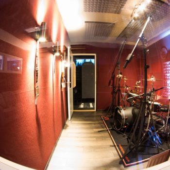 Drum room and vocal booth